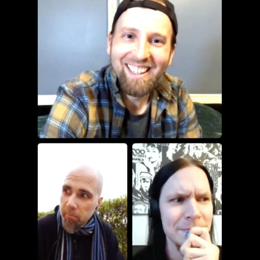 Instagram Live With Frozen Factory And Vincent Parkkonen